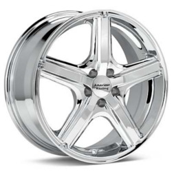 American Racing MAVERICK Chrome 17X8 5-100 Wheel
