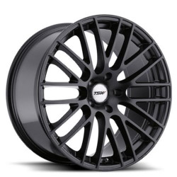 TSW MAX Matte Black Wheel