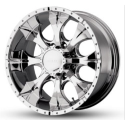 Helo MAXX 8 Spoke Chrome 17X9 8-165.1 Wheel