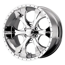 Helo MAXX Chrome 17X9 6-139.7 Wheel