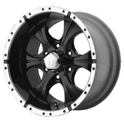 Helo MAXX Gloss Black Machined 15X8 5-114.3 Wheel