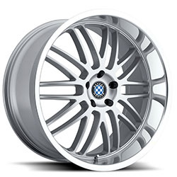 Beyern MESH Silver W/Mirror Cut Lip 18X9 5-120 Wheel