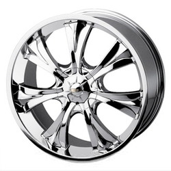 Baccarat MIRAGE Chrome 18X8 4-114.3 Wheel