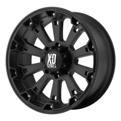 KMC-XD Series MISFIT Matte Black 22X10 6-139.7 Wheel