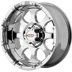 Moto Metal MO955 Chrome 17X9 8-165.1 Wheel