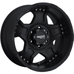 Moto Metal MO957 Matte Black 17X9 8-165.1 Wheel
