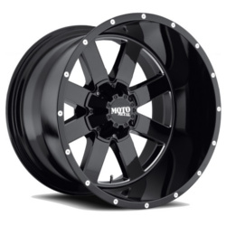 Moto Metal MO962 Gloss Black With Milled Accents 18X10 5-139.7 Wheel