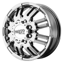 Moto Metal MO963 DUALLY Bright Pvd 17X6 8-210 Wheel