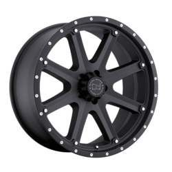 Black Rhino MOAB Matte Black 18X9 6-139.7 Wheel