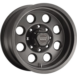 American Racing Atx MOJAVE Teflon Black 17X8 8-170 Wheel