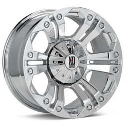 KMC-XD Series MONSTER Chrome 22X11 6-139.7 Wheel