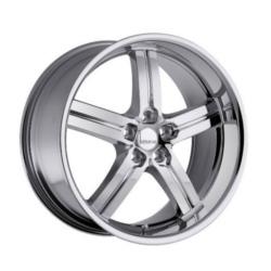Lumarai MORRO Chrome 17X8 5-114.3 Wheel