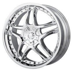 MPW MP102 Chrome 18X8 5-120 Wheel