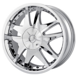 MPW MP103 Chrome 20X9 5-120 Wheel