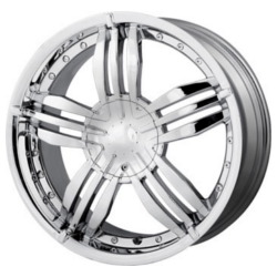 MPW MP105 Chrome 20X9 5-120 Wheel