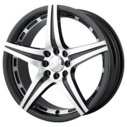 MPW MP106 Black/Machined 20X9 4-114.3 Wheel