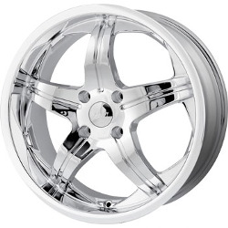 MPW MP107 Chrome 18X8 5-112 Wheel