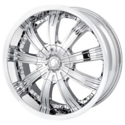 MPW MP108 Chrome 18X8 5-114.3 Wheel