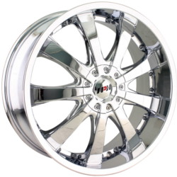 MPW MP110 Chrome 18X8 5-114.3 Wheel