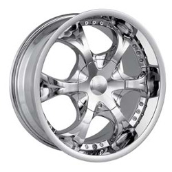 MPW MP203 Chrome 22X10 5-135 Wheel