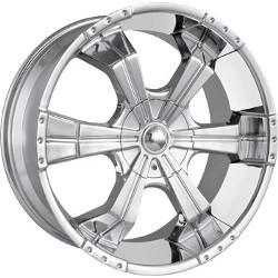 MPW MP204 Chrome 20X9 5-120 Wheel