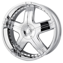 MPW MP206 Chrome 20X9 5-120 Wheel