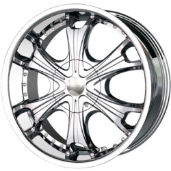 MPW MP209 Chrome 20X9 6-139.7 Wheel