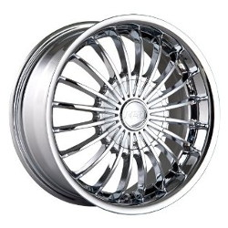 MPW MP501 Chrome 16X7 4-100 Wheel