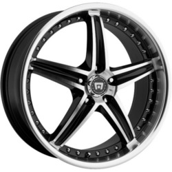 Motegi Racing MR107 Gloss Black Machined 16X7 5-100 Wheel