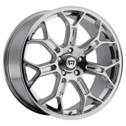 Motegi Racing MR120 Chrome 20X9 5-120.7 Wheel