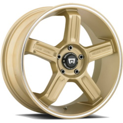 Motegi Racing MR122 Gold W/ Machined Lip Groove