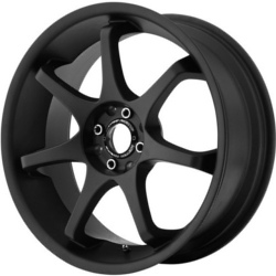 Motegi Racing MR125 Satin Black 17X8 4-108 Wheel