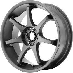 Motegi Racing MR125 Titanium Gray 18X9 5-114.3 Wheel