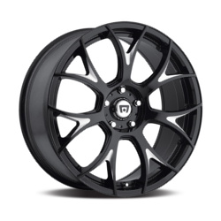 Motegi Racing MR126 Gloss Black Milled 18X10 5-112 Wheel