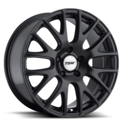 TSW MUGELLO Matte Black 18X8 5-114.3 Wheel
