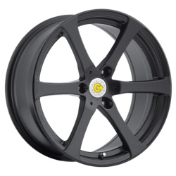 Genius NEWTON Matte Black 17X6 3-112 Wheel