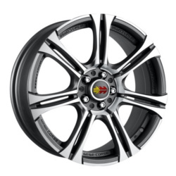 Momo NEXT Anthracite 17X7 5-100 Wheel
