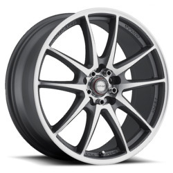 Ninja NJ01 Dfs Gray 18X8 5-114.3 Wheel