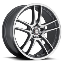 Ninja NJ02 Dfs Gray 18X8 5-100 Wheel