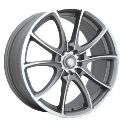 Ninja NJ03 Dfs Gray 18X8 5-100 Wheel