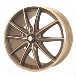 Ninja NJ05 Cfr Bronze 17X7 4-100 Wheel