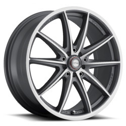 Ninja NJ05 Dfs Gray 15X7 5-100 Wheel