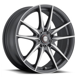 Ninja NJ07 Dfs Gray 17X7 5-100 Wheel