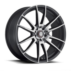 Ninja NJ09 Dfs Gray 17X7 4-100 Wheel