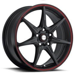 Ninja NJ11 Matte Black W/ Red Stripe Wheel