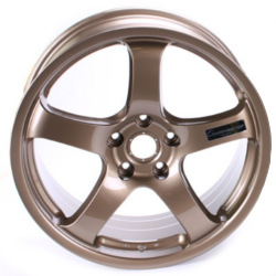 Advan NO.51C Bronze 19X10 5-114.3 Wheel