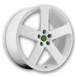 Redbourne NOTTINGHAM White 22X10 5-120 Wheel