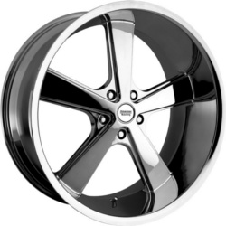American Racing Hot Rod NOVA Chrome 22X9 5-115 Wheel
