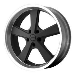 American Racing Hot Rod NOVA Mag Gray Machined 22X9 5-115 Wheel