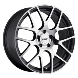 TSW NURBURGRING Gunmetal W/Mirror Cut Face 22X11 5-120 Wheel